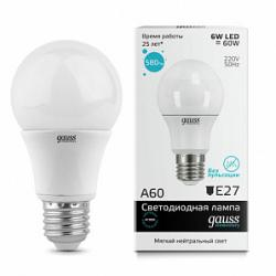 Лампа Gauss LED Elementary A60 E27 10W 2700K   SQ 23210