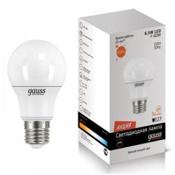 Лампа Gauss LED Elementary A60 E27 12W 4100K   SQ 23222